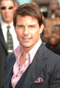 Tom Cruise attends the 'Mission: Impossible III' premiere in New York City.