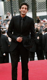 """Adrien Brody at the premiere of """"Zivot Je Cudo (Life is a Miracle)"""" in Cannes, France."""