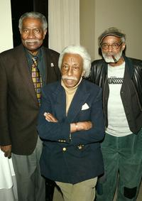 Ossie Davis, Gordon Parks and Melvin Van Peebles at a private screening of