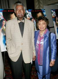 Ossie Davis and Ruby Dee at the premiere of