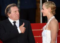 Gerard Depardieu and Cecile de France at the 59th edition of the International Cannes Film Festival premiere of