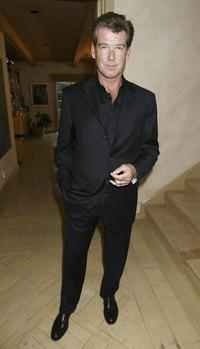 Pierce Brosnan at the Launch event and reception for a nationwide tour by