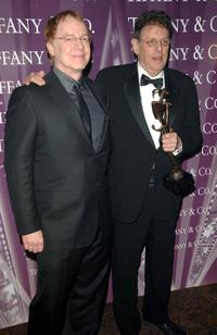 Danny Elfman and Philip Glass at the 18th Annual Palm Springs International Film Festival 2007 Gala Awards Presentation.