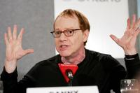 Danny Elfman in a press conference of