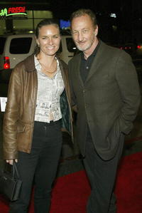Robert Englund and Guest at the premiere of