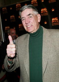 R. Lee Ermey at the A & E Television Networks 20th anniversary celebration.