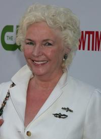 Fionnula Flanagan at the CW/CBS/Showtime/CBS Television TCA party.