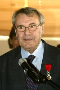 Milos Forman at 57th International Cannes Film Festival after receiving the