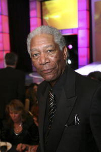 Actor Morgan Freeman at the 2007 Writers Guild Awards in L.A.