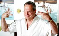 Terry Gilliam at the presentation