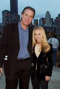 Raja Gosnell and Hayden Panettiere at the Scooby-Doo DVD Launch Event