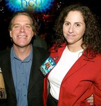Raja Gosnell and Mimi Slavin at the Scooby-Doo DVD Launch Event