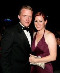 Anthony Michael Hall and Molly Ringwald at the 36th AFI Life Achievement Award tribute.