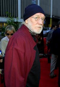 Richard Harris at the premiere of