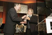 Werner Herzog and Sid Ganis at the the 49th San Francisco International Film Festival awards ceremony.