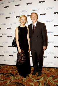 Werner Herzog and his wife Lena Herzog at the the 49th San Francisco International Film Festival awards ceremony.