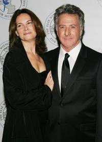 Dustin Hoffman and wife Lisa at The Elie Wiesel Foundation for Humanity Award Dinner.