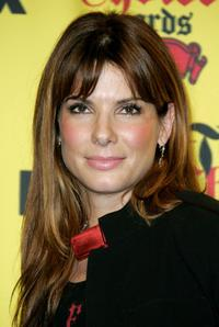 Sandra Bullock at the 2005 Teen Choice Awards.