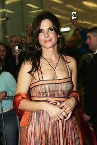 Sandra Bullock at the Sydney premiere of