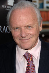Anthony Hopkins at the L.A. premiere of