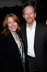 Ron Howard and his wife Cheryl Howard at the New York premiere of