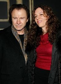 Harvey Keitel and Daphna Kastner at the New York Gala premiere of