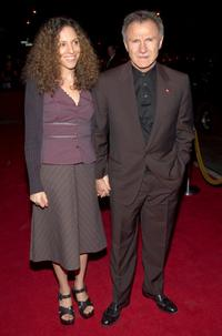 Daphna Kastner and Harvey Keitel at the premiere of