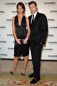 Christy Turlington and Edward Burns at Chanel Fine Jewelry's
