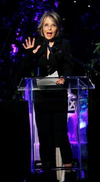 Diane Keaton at the Women In Film 2007 Crystal and Lucy Awards.