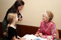 Ellen Burstyn, Marcia Gay Harden and her daughter Eulala Sheel at the celebration of book