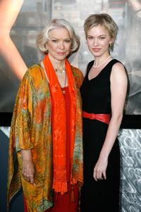 Ellen Burstyn and Christine Horne at the Toronto International Film Festival 2007.