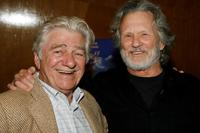Kris Kristofferson and Seymour Cassel at the premiere of