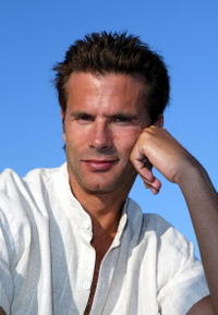 Lorenzo Lamas at the Nicole Richie's Celebrity Catwalk for Charity.