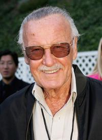 Stan Lee arrives at Video Games Live at the Hollywood Bowl.