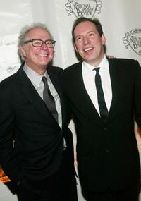 Barry Levinson and Hans Zimmer at Tavern for the National Board Of Review Of Motion Pictures 2003 Annual Awards Gala.