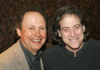 Billy Crystal and Richard Lewis at the premiere of