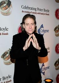 Richard Lewis at the Comedy to Benefit The IMFs Peter Boyle Fund.