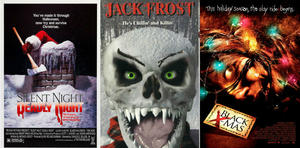 Holiday Horror-Movie Posters