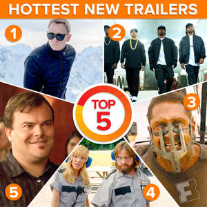 Watch This Week's Hottest Trailers: James Bond's 'Spectre' and 'Mad Max: Fury Road'