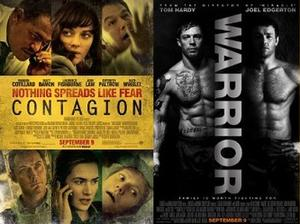 You Rate the New Releases: 'Contagion' and 'Warrior'