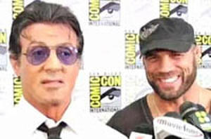 New! Comic-Con Video Interview with 'Expendables' Stallone, Couture