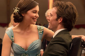 Emilia Clarke and Sam Claflin in Me Before You