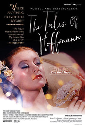 "Poster for ""The Tales of Hoffman."""