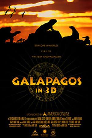 "Poster art for ""Galapagos 3D."""