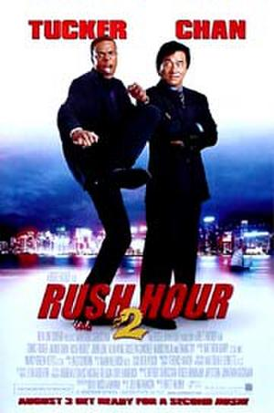 "Poster art for ""Rush Hour 2."""