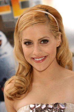 "Actress Brittany Murphy at the Hollywood premiere of ""Happy Feet."""