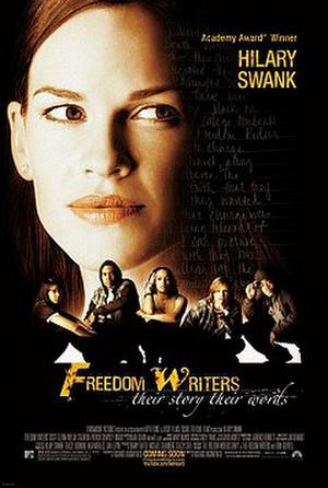 """Poster art for """"Freedom Writers."""""""