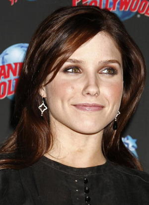 "Actress Sophia Bush promotes ""The Hitcher"" at Planet Hollywood in New York."