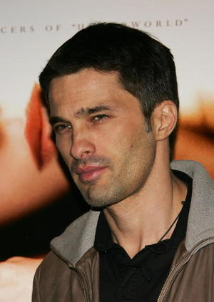 """Actor Olivier Martinez at the L.A. promo screening of """"Blood and Chocolate."""""""
