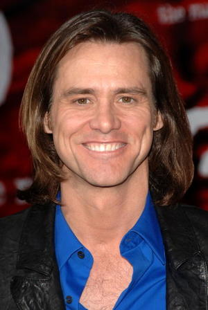 """""""The Number 23"""" star Jim Carrey at the L.A. premiere."""